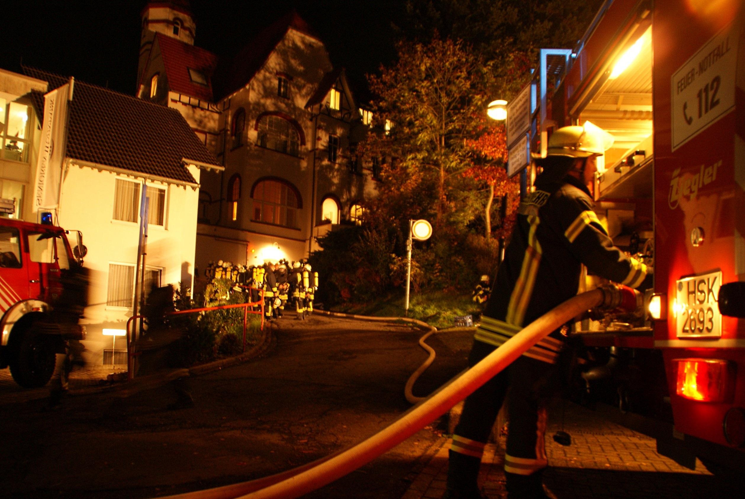 Der Brand im Senioren-Wohnpark auf dem Klosterberg forderte am 18. Oktober  ein Menschenleben. (Foto: Feuerwehr)