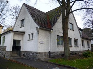 Das bisherige Gemeindehaus am Fresekenweg. (Foto: oe)