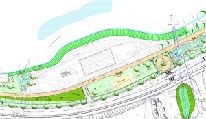 Der Plan des Regionale-Projekts in Amecke.