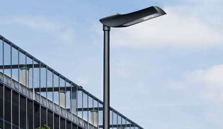 Die LED-Straßenleuchte Viatana von Trilux. (Foto: Trilux)