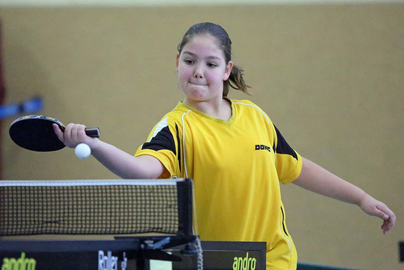Julia Stellpflug siegte bei den Tischtennis-Vereinsmeisterschaften des TuS Sundern in der A-Jugend. (Foto: TuS Sundern)