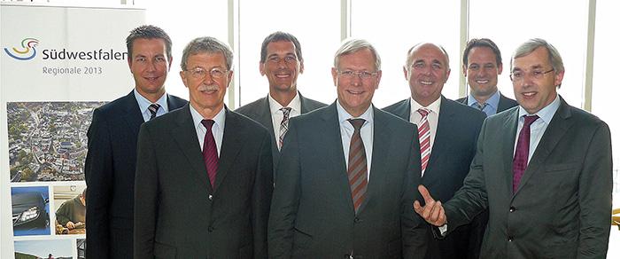 Die südwestfälischen CDU-Landtagsabgeordneten sind sich einig, dass das heimische Schützenbrauchtum Weltkulturerbe werden soll. (Foto: CDU)