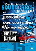 Das Plakat für den Soundcheck 2014