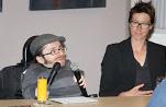 Raul Krauthausen und Verena Verspohl. (Foto: TSL)