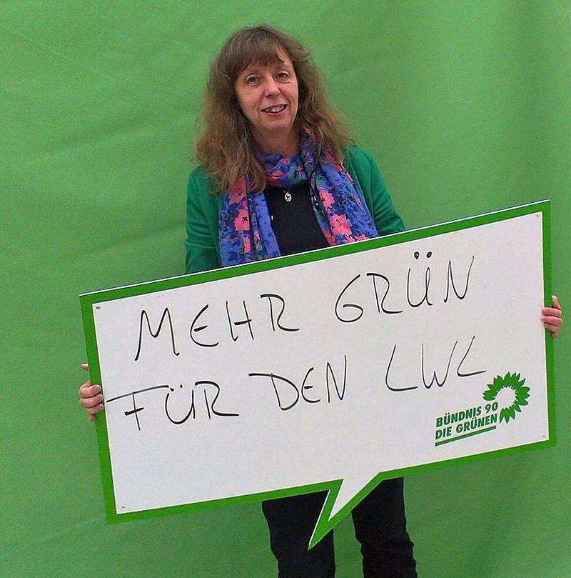 Martina Müller ist Spitzenkandidatin der Grünen für die Landschaftsversammlung des LWL. (Foto: Grüne)