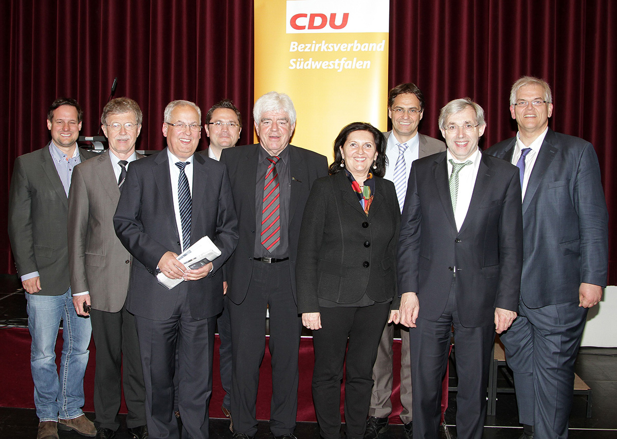 Viel politische Prominenz versammlete sich beim Bezirksparteitag der CDU Südwestfalen im Kaiserhaus Arnsberg. (Foto: CDU Südwestfalen)