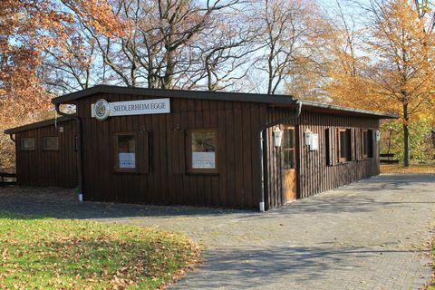 Das Siedlerheim der Eggesiedler, die mit dem Kreissiedlerfest auch das 75-jährige Bestehen ihrer Siedlung feierten. (Foto: Eggesiedler)