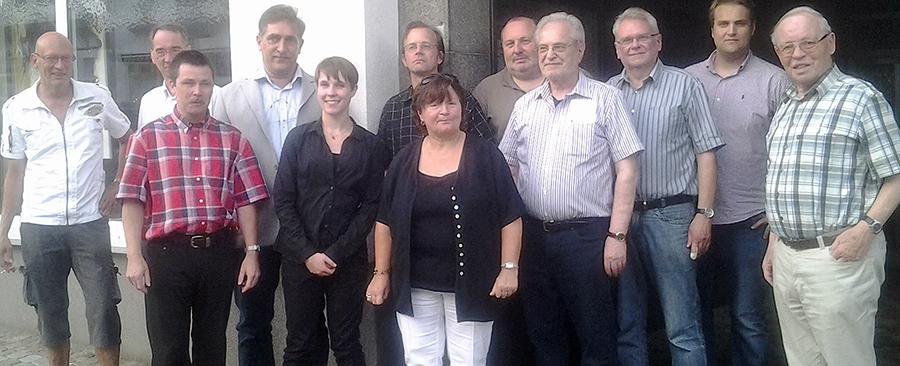 Der neue Vorstand des SPD-Ortsvereins (Alt-)Arnsberg. (Foto: SPD)