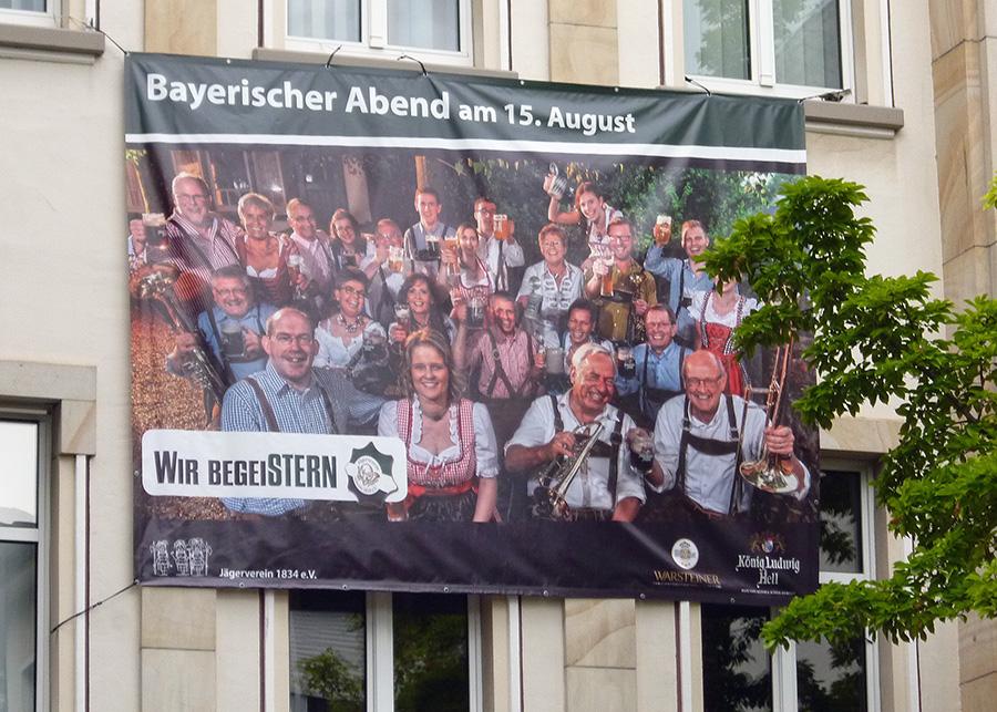 Am Freitag startet das Jägerfest mit dem Bayerischen Abend. (Foto: oe)