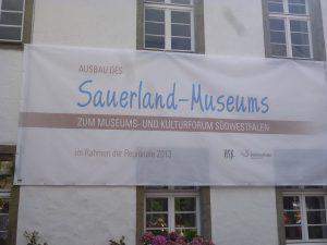 Das Museum wird um- und ausgebaut. Foto: oe)