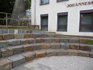 Das neue Teatron der Johannesschule. Foto: oe)