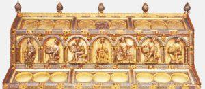 Der Dreikönigsschrein im Kölner Dom beherhergt die Reliquien der Heiligen Drei Könige. (Foto: wedinghausen.de)