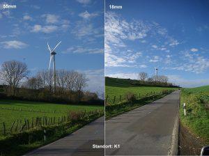 Alle Bilder mit 18 mm Kamerabrennweite verfälschen die Realität, sagt WiSu-Fraktionschef Hans Klein.