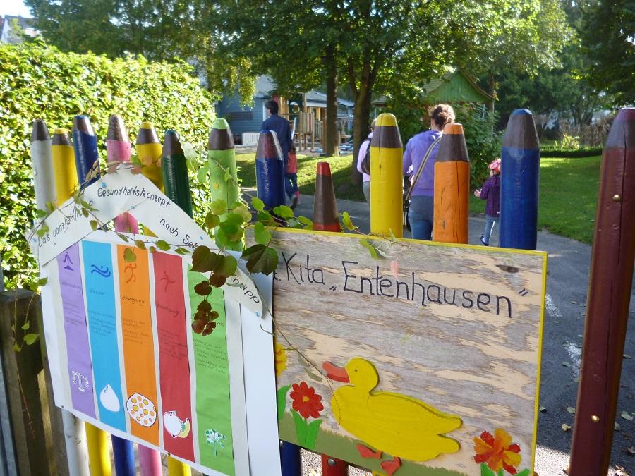 Die Beitragssatzung für die Arnsberger Kinergärten - hier die KiTa Entenhausen in Bruchhausen - soll 2015 verändert werden. (Foto: oe)