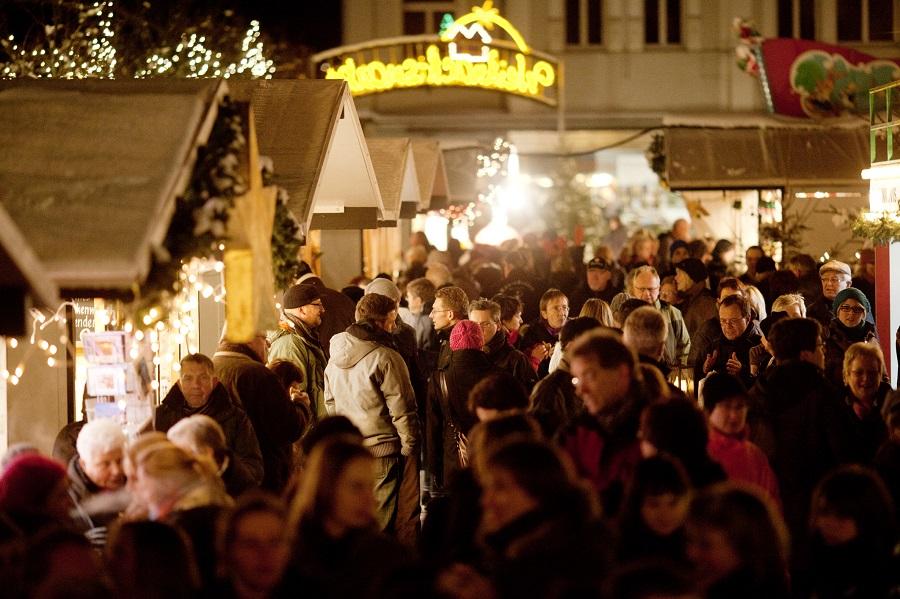 Der Arnsberger Weihnachtsmarkt wird vom veranstaltenden Verkehrsverein schon vor dem Schlusstag als großer Erfolg gewertet. (Foto: Verkehrsverein)