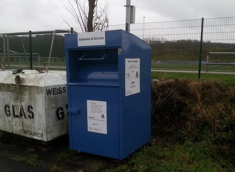 Ab 1. januar 2015 stellt die Stadt Arnsberg kommunale Altkleidercontainer auf. Foto: Stadt Arnsberg)