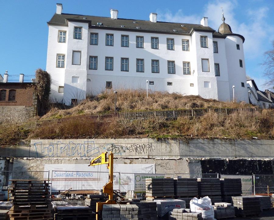 sauerland museum eine treppe soll es jetzt richten blickpunkt arnsberg sundern. Black Bedroom Furniture Sets. Home Design Ideas