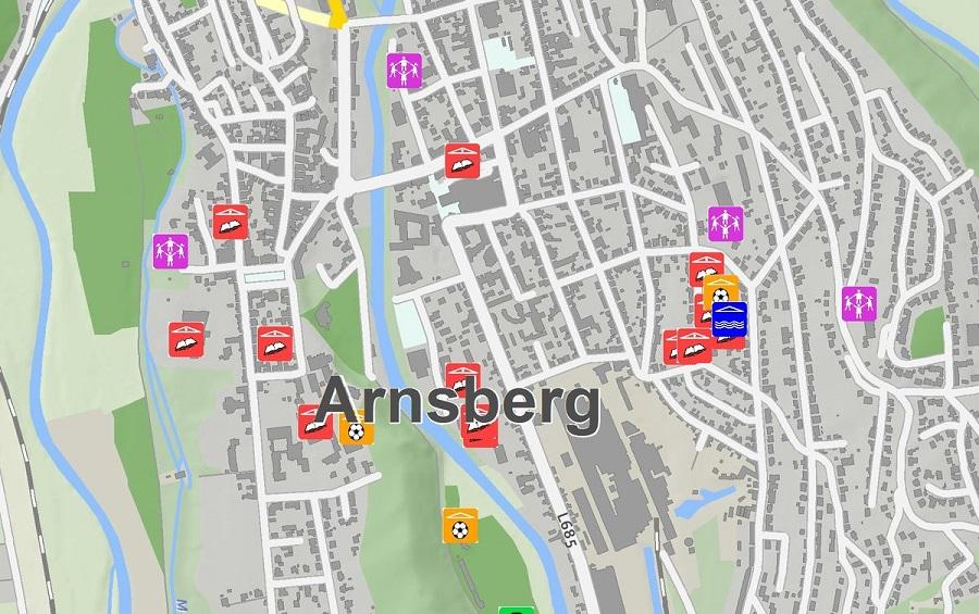Die Stadt Arnsberg stellt Daten in einem Open-Data-Portal zur Verfügung.