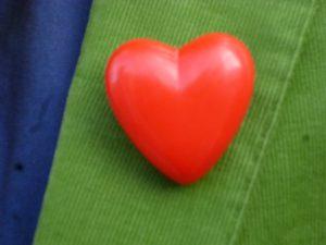 Eins von 1000 Herzen der Hospiz-Aktion. (Foto: oe)