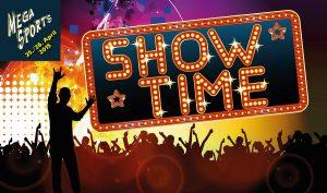 Show-Time bei MegaSports 2015.
