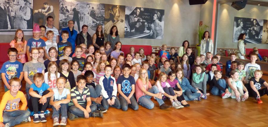 Abschlussveranstaltung der KulturStrolche in der Tanzschule Marohn. (Foto: Stadt Arnsberrg)