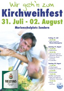 Das traditionelle Kirchweihfest beginnt am Samstag mit einem festlichen Gottesdienst (Foto: Heimatverein)