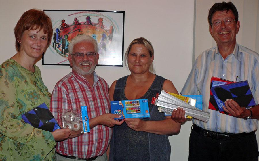Spendenübergabe im Neheimer Kolpinghaus. (Foto: Kolpingsfamilie)