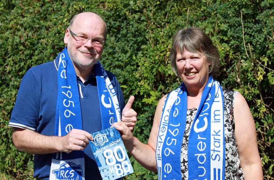 Dr.Thomas Klauke ist der Erste! Er unterstützt den RC Sorpesee mit dem Erwerb einer Dauerkarte für die 2.Bundesliga-Heimspiele plus Fanpaket und Platz auf dem RCS-Partnerboard. (Foto: privat)