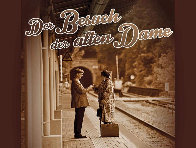 """Dürrenmatts """"Der Besuch der alten Dame"""" ist die neueste Inszenierung der Theatergruppe """"spielwerk-arnsberg""""."""