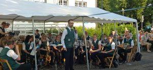 Acht hochmotivierte heimische Musikvereine nutzten die Gelegenheit, sich auf dem Franz-Josef-Tigges-Platz zu präsentieren. (Foto: Stadtmarketing)