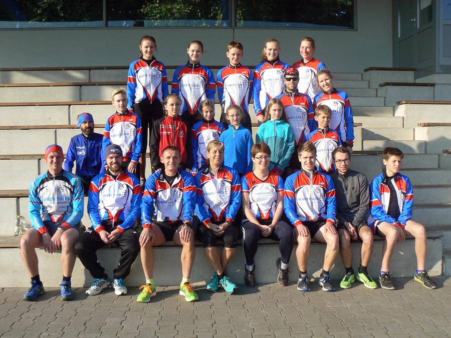 Die Teilnehmer des Trainingslagers des SC Hagen-Wildewiese in Meppen. (Foto: SCHW)