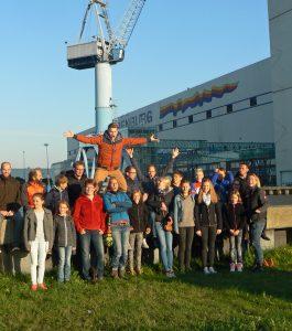 Die Sportler aus Sundern besichtigten auch die Meyer-Werft. (Foto: SCHW)