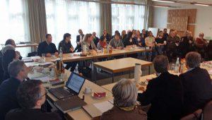 Öffentliche Sitzung des Beirats für Stadtgestaltung im Meisterprüfungssaal der Handwerkskammer. (Foto: oe)
