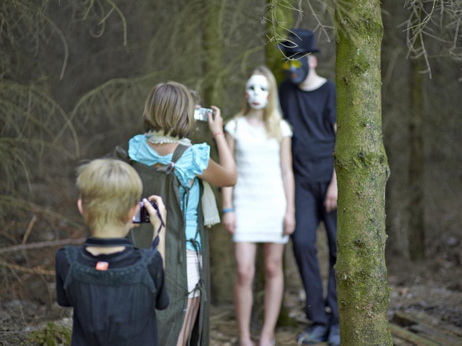 Fotografieren miit der Digitalkamera - einer der spannenden Workshops des bisherigen Kulturrucksacks. (Foto: Stadt Arnsberg)