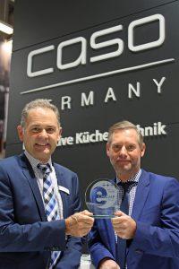 Die geschäftsführenden Gesellschafter Peter (li.) und Bernd Braukmann auf der IFA in Berlin. (Foto: Braukmann)