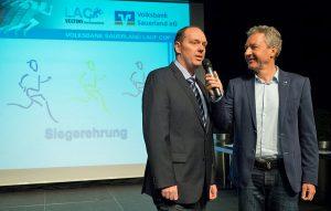 Der doppelte Thomas Vielhaber: Links von der Volksbank, rechts vom LAC. (Foto: LAC/Wolfgang Detemple)