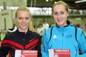 Freut sich über ihren 2. Platz: Anna Gawehn (rechts). (Foto: Peter Middel)