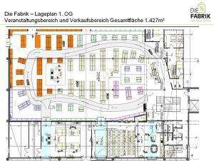 """DasHHerzstück des Projekts: Plan der """"Fabrik"""""""