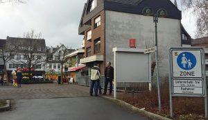 Der Dämmerschoppen zieht um zum Levi-Klein-Platz. (Foto: oe)