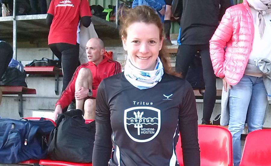 Gesmt-Fünfte bei der Hammer Laufserie: Patricia Wahle vom SV Tritus. (Foto: Tritus)