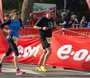 Monika Schulz lief persönliche Bestzeit. (Foto: LAC)
