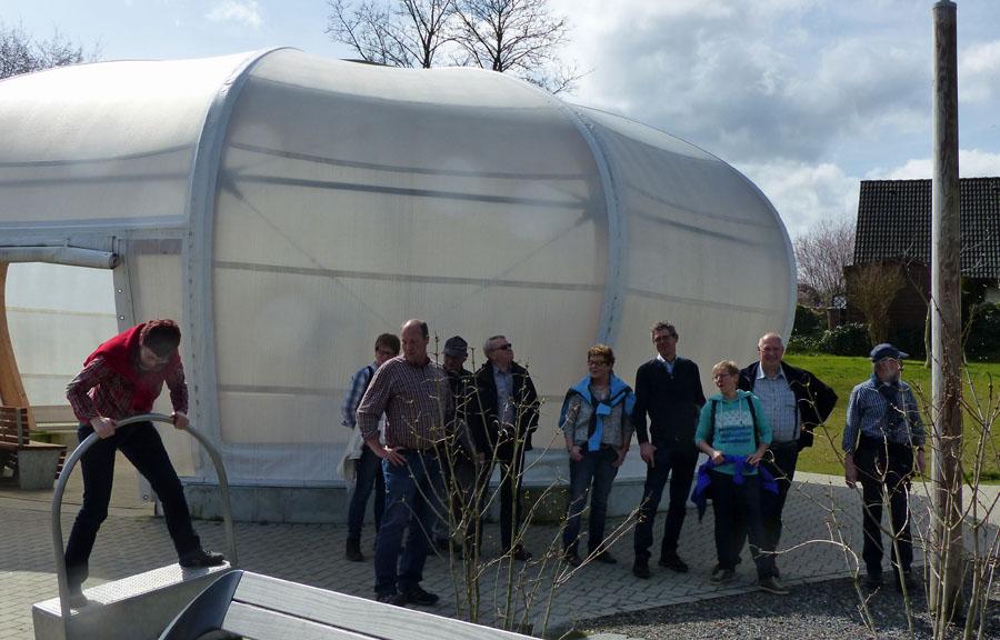 Die Altenhellefelder SGV-er auf der Airlebnisweg in Amecke. (Foto: SGV)