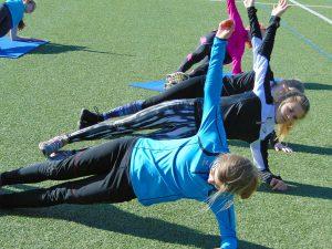 Intensives Training. (Foto: LAC)