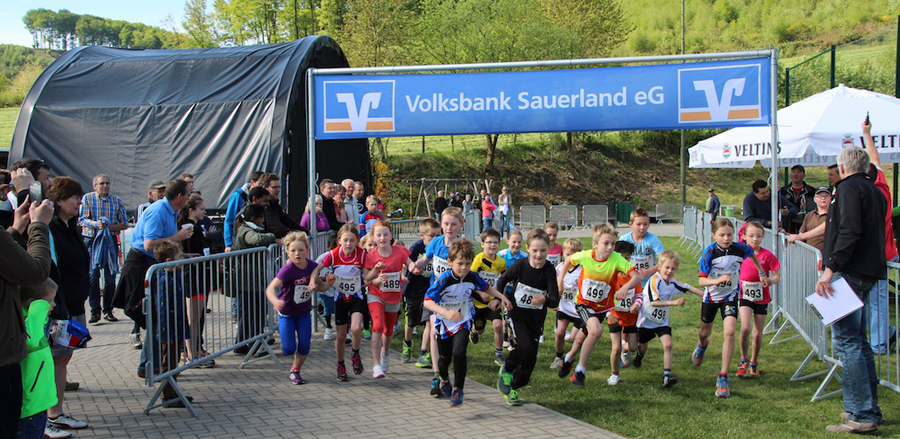 Auch der nachwuchs ist beim Allendorfer Volkslauf am Start. (Foto: SSV)