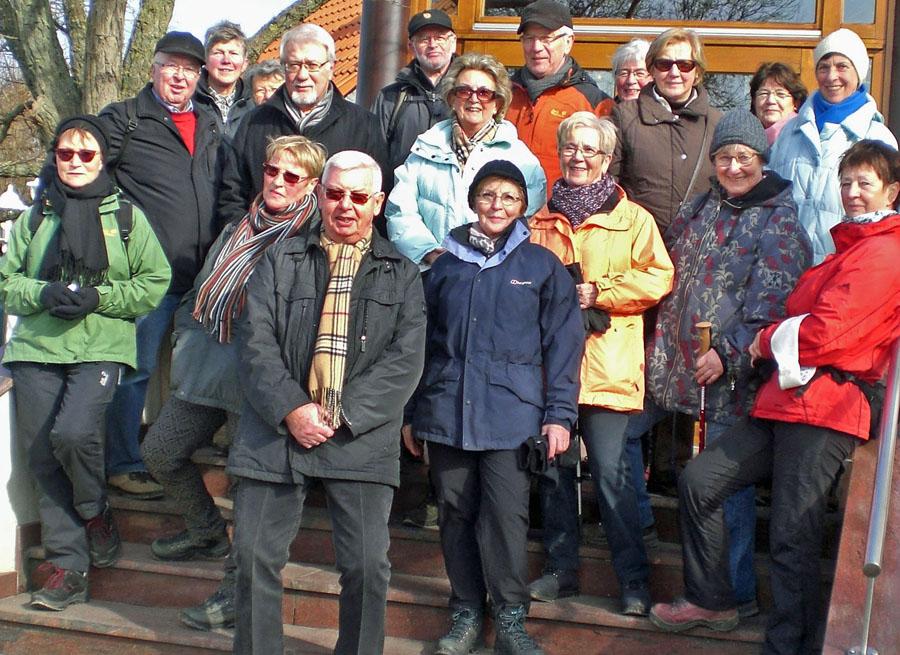 Teilnehmer der Dicke-Bohnen-Wanderung des SGV Neheim. (Foto: SGV)