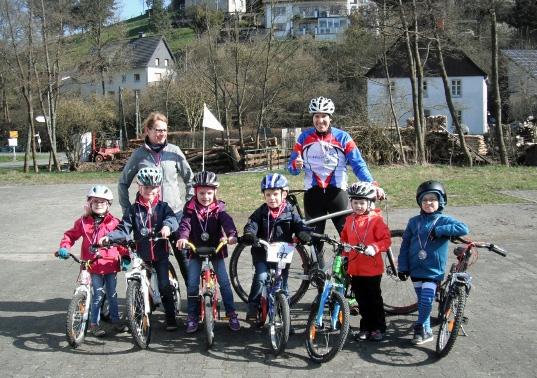 Die Hagener KiTa-Kinder übten für ihre Teilnahme bei Mega-Sports. (Foto: KiTa)
