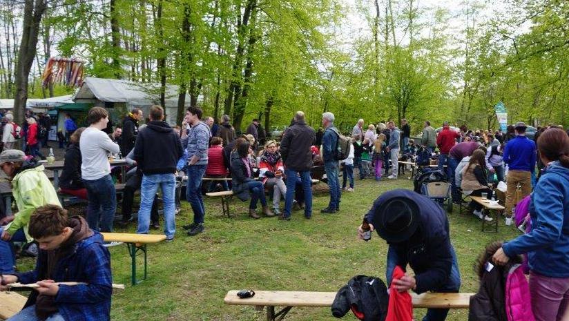 Am 1. Mai gibt es wieder ein großes Familienfest rund um die Krähenbrinkhütte bei Langscheid. (Foto: SGV)
