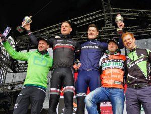 Lokalmatador Marc mensebach konnte sich über Platz 2 über 30 Kilometer freuen. (Foto: Megasports)