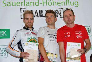 Die Halbmarathon-Sieger bei den Männern. (Foto: SCHW)
