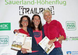 Die Halbmarathon-Sieger bei den Frauen. (Foto: SCHW)